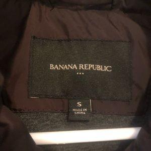 Banana Republic Vest Coat dark Purple small